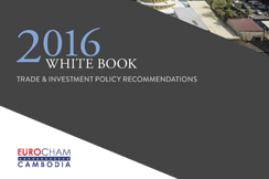 ADW Cambodia - Eurocham White Book 2016 published