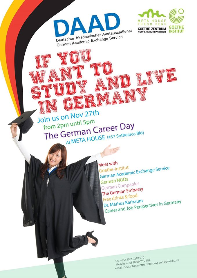 Poster German Career Day