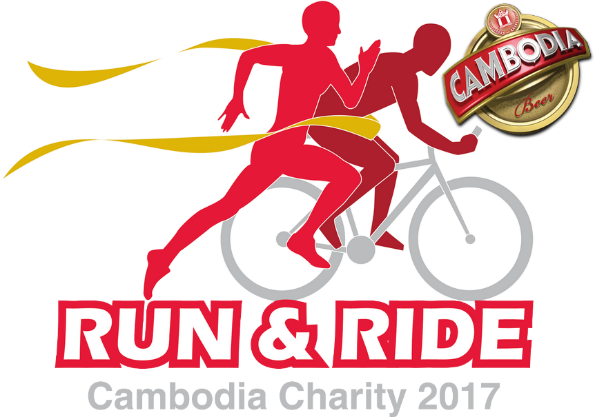 Cambodia Charity Run & Ride logo