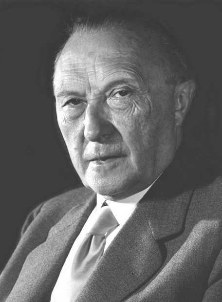 Konrad Adenauer, German chancellor 1949-1963