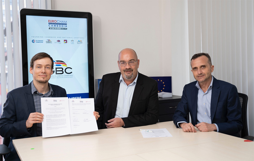 New MoU signed between GBC, EuroCham, and GIZ